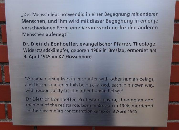 Buchenwald gedenktafel 2019